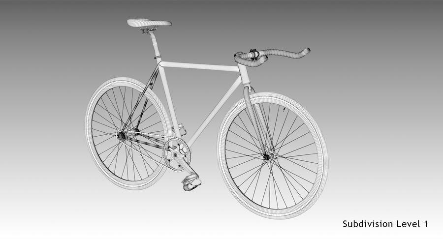 Fixie Bike royalty-free 3d model - Preview no. 16