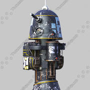R1 Astromech机器人 3d model
