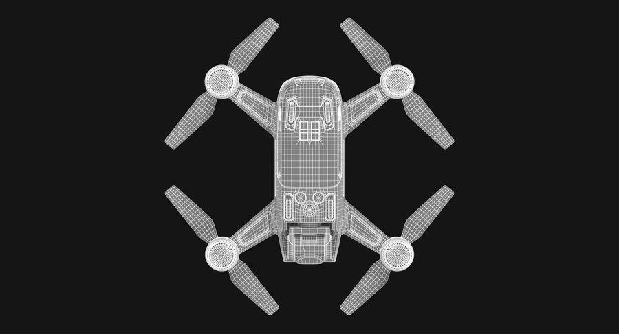 DJI Spark Blue royalty-free 3d model - Preview no. 20