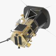 Space Probe Parker 3D模型 3d model