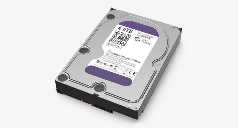 电脑硬盘驱动器的打开和关闭 royalty-free 3d model - Preview no. 9