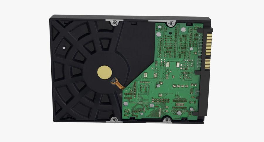 电脑硬盘驱动器的打开和关闭 royalty-free 3d model - Preview no. 8