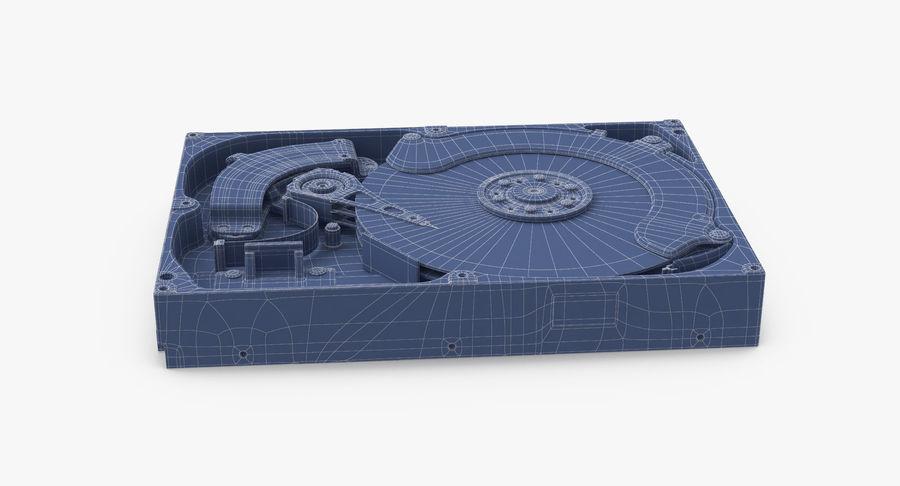 电脑硬盘驱动器的打开和关闭 royalty-free 3d model - Preview no. 17
