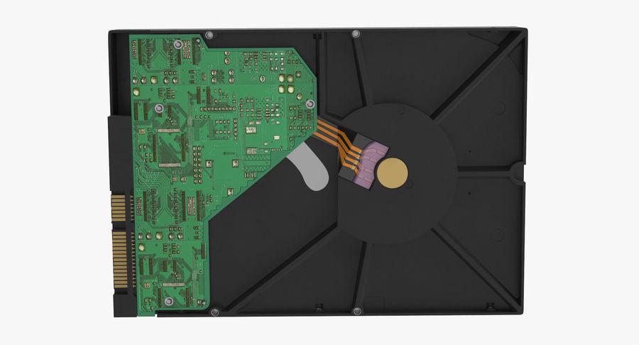 电脑硬盘驱动器的打开和关闭 royalty-free 3d model - Preview no. 12