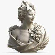 Busto di donna 10 3d model