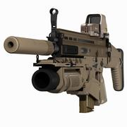 FN SCAR H&グレネードランチャー 3d model