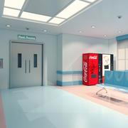 Bekleme odası 3d model