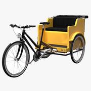 Pedicab 3d model