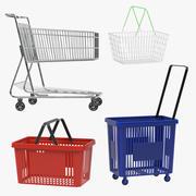 쇼핑 컬렉션 3d model