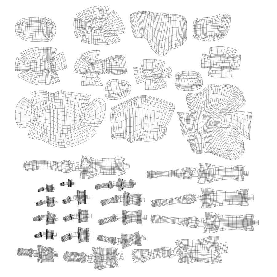 解剖学-人間の足の骨 royalty-free 3d model - Preview no. 11