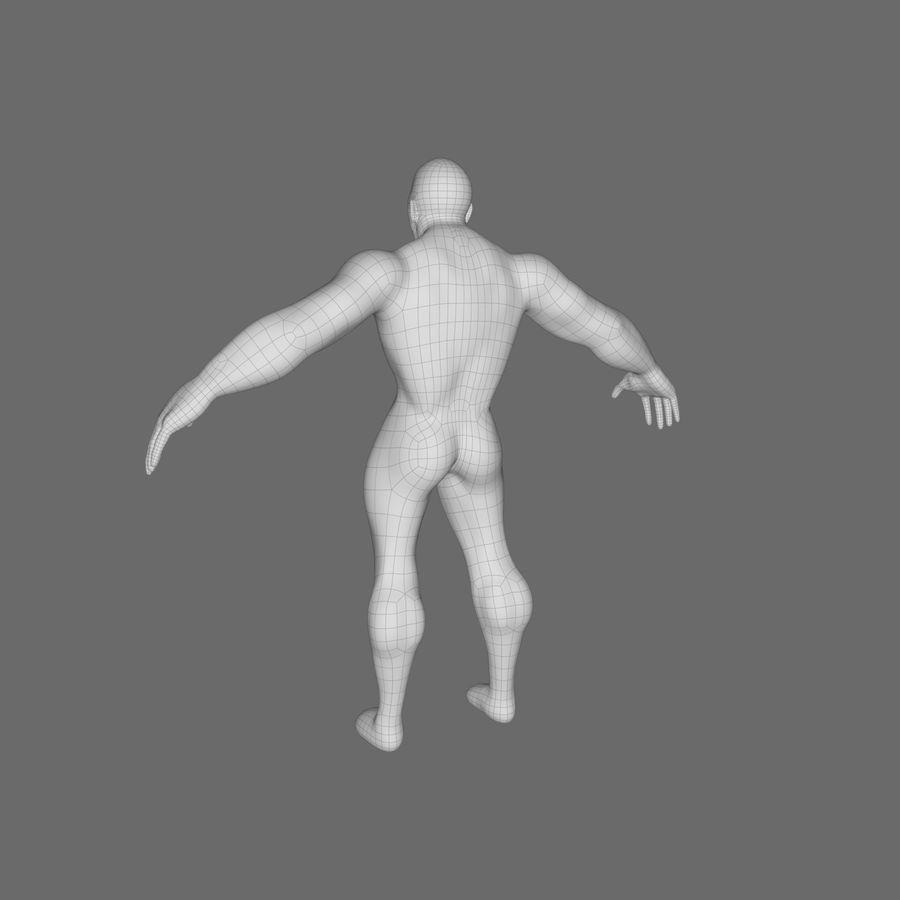 Erkek taban örgü royalty-free 3d model - Preview no. 2