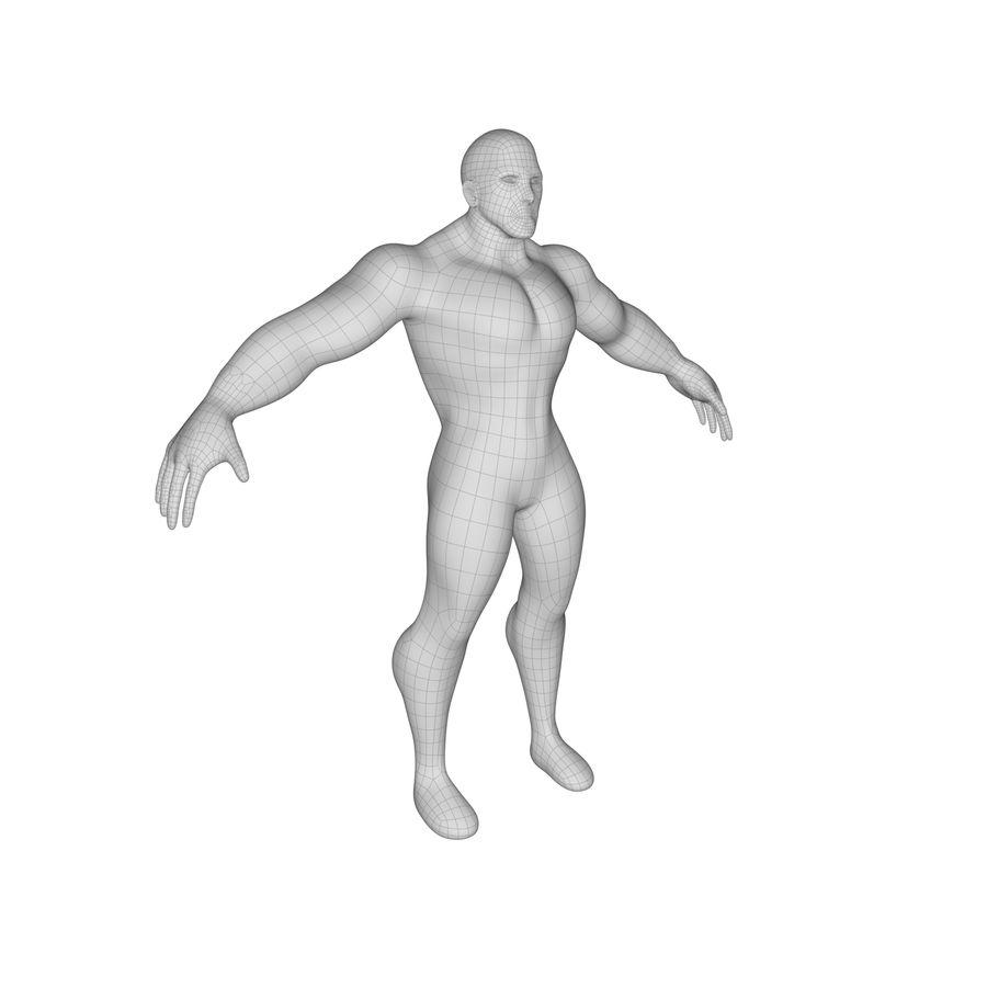 Erkek taban örgü royalty-free 3d model - Preview no. 1