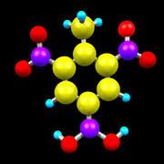 Trinitrotoluene 3d model