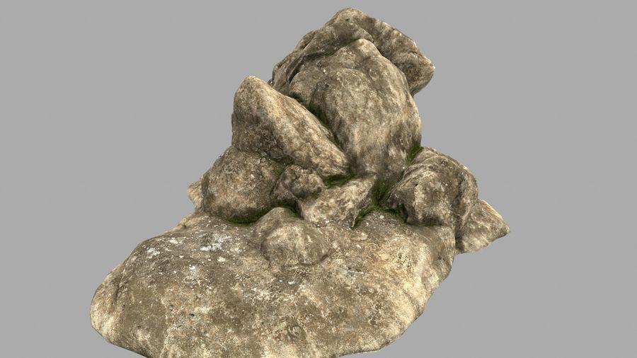 pustynna skała jaskiniowa royalty-free 3d model - Preview no. 8