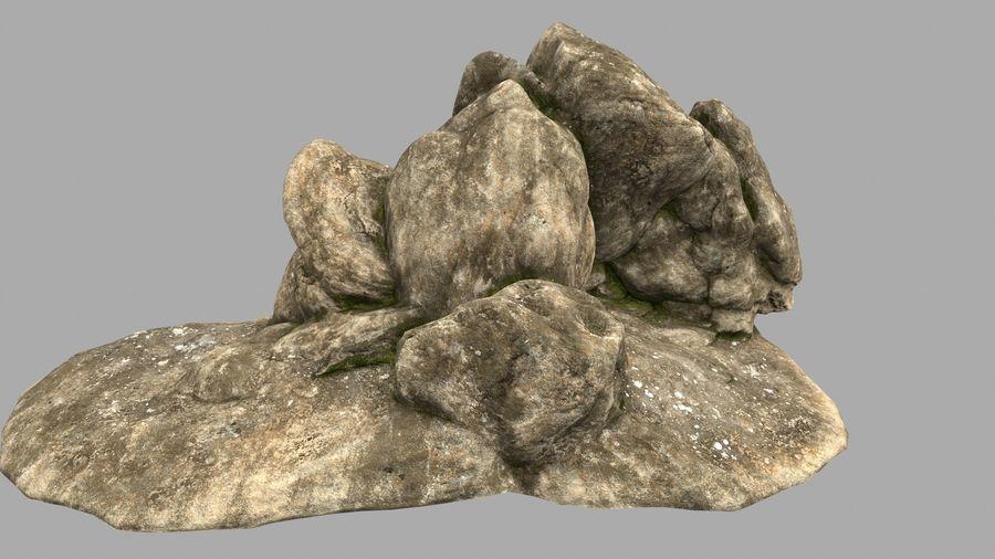 pustynna skała jaskiniowa royalty-free 3d model - Preview no. 7