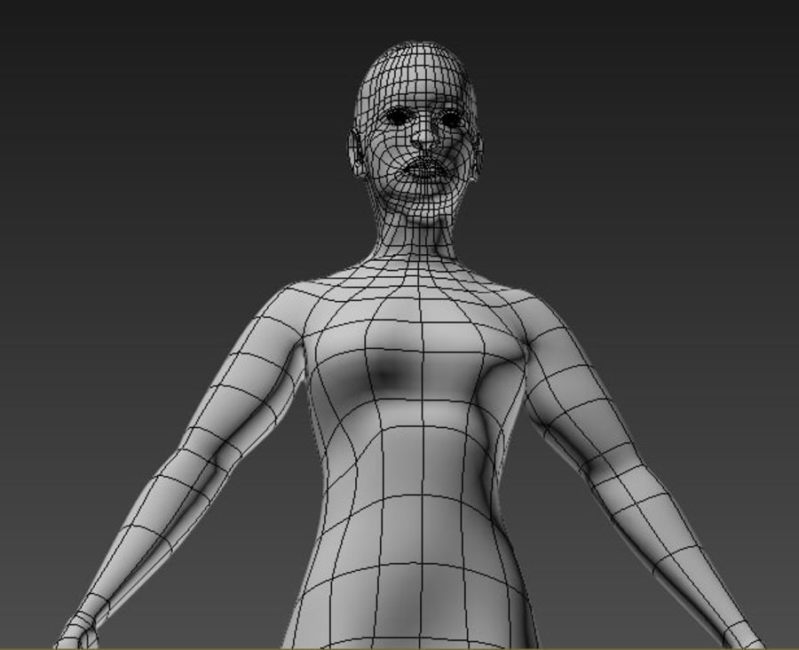 body royalty-free 3d model - Preview no. 2