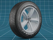 汽车轮胎03 3d model