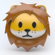 LION icon 3d model