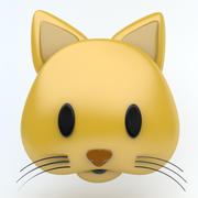 Значок CAT 3d model