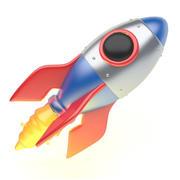 ROCKET icoon 3d model