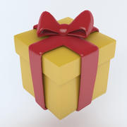 Icône PRESENT (2) 3d model