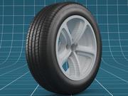 Car tire 02 3d model