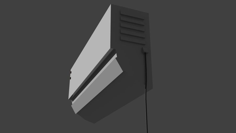 Luftkonditionering Intern royalty-free 3d model - Preview no. 3