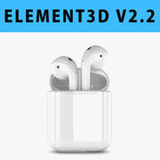 E3D-Apple AirPods 3d model