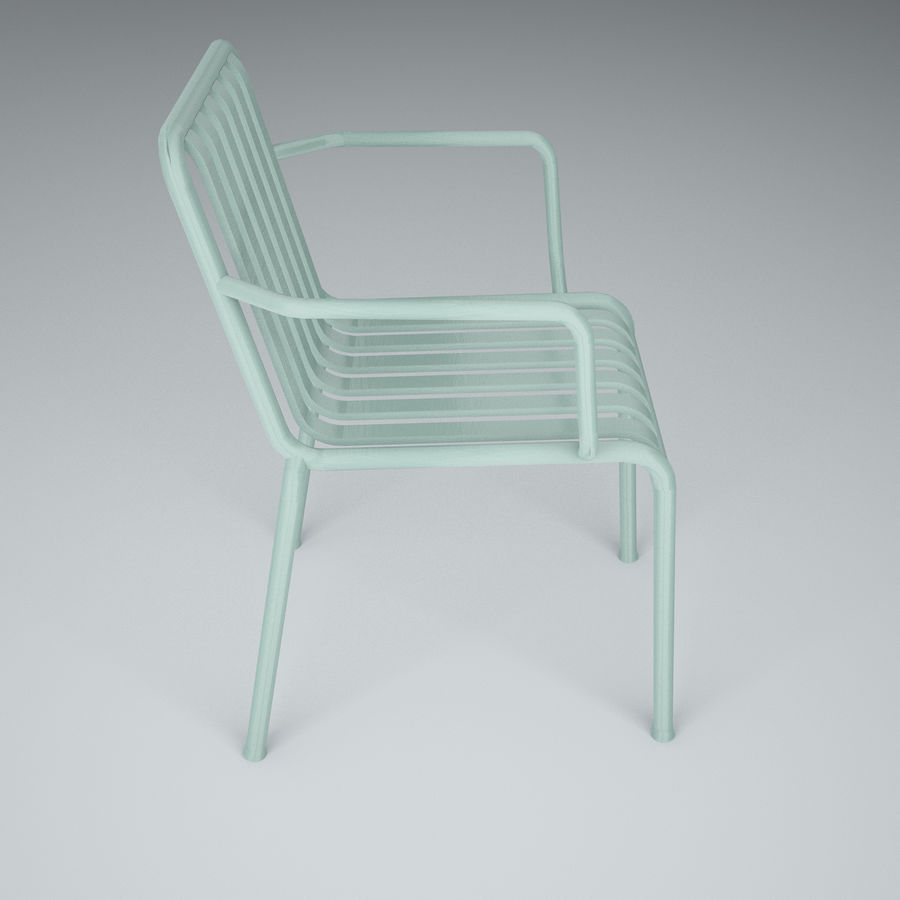 HAY Palissade Arm Arm royalty-free modelo 3d - Preview no. 4
