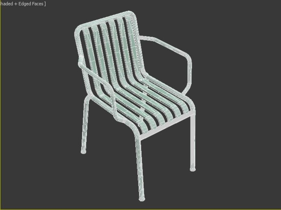 HAY Palissade Arm Arm royalty-free modelo 3d - Preview no. 8