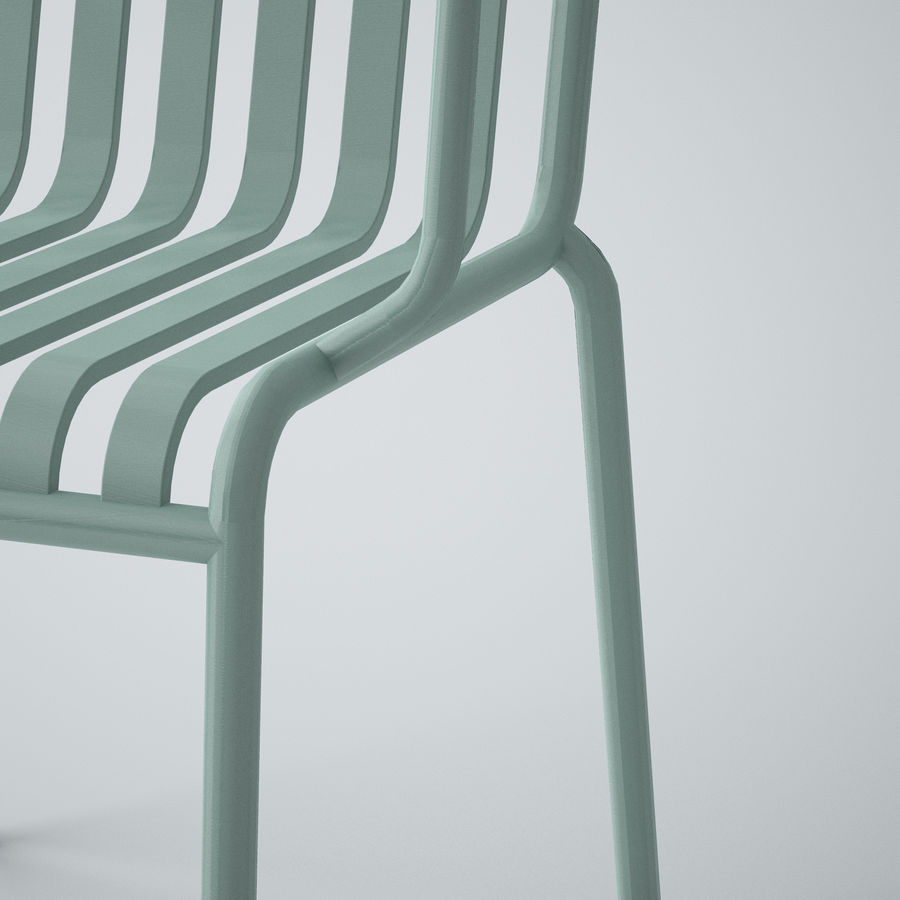 HAY Palissade Arm Arm royalty-free modelo 3d - Preview no. 6