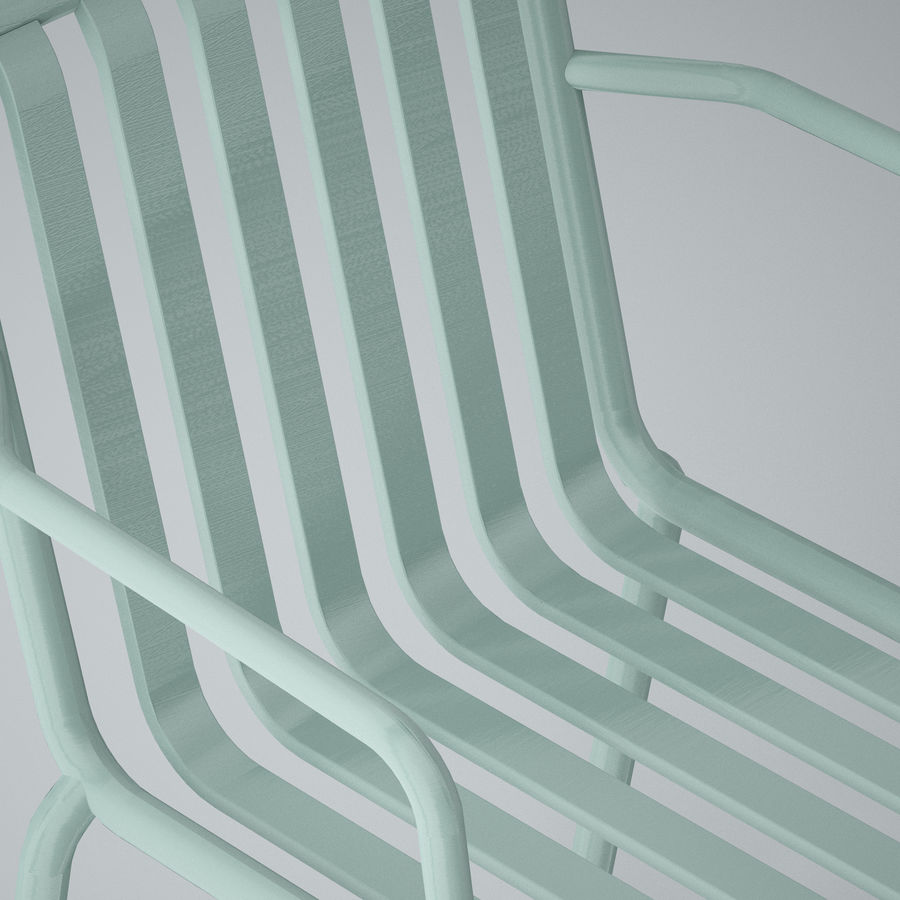 HAY Palissade Arm Arm royalty-free modelo 3d - Preview no. 7