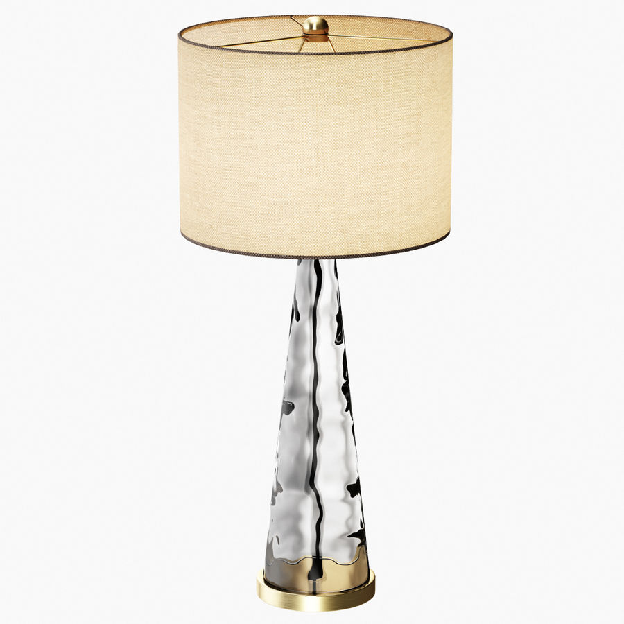 Hydra table lamp royalty-free 3d model - Preview no. 3