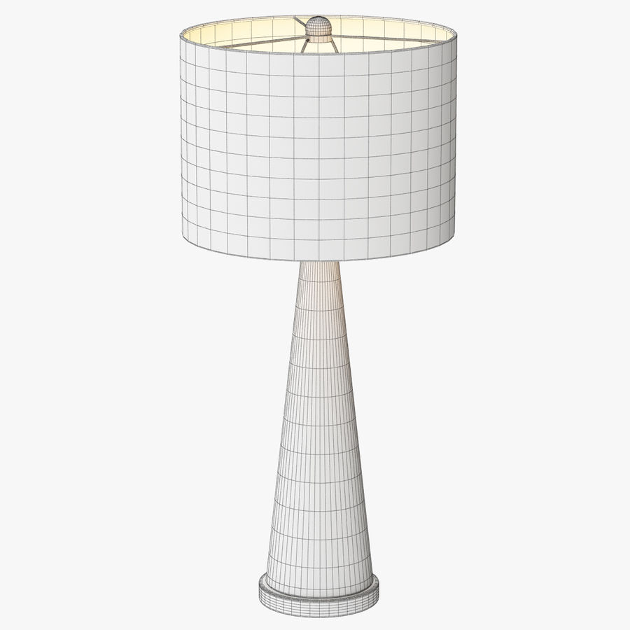 Hydra table lamp royalty-free 3d model - Preview no. 4