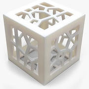 Objeto matemático 0044 3d model