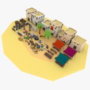 Desert City Pack 3d model