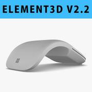E3D-Microsoft Surface Arc 마우스 3d model