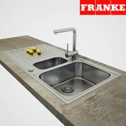 Zlew Franke 3d model