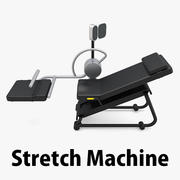 Stretch Machine 001 - Equipamento de Ginástica 3d model