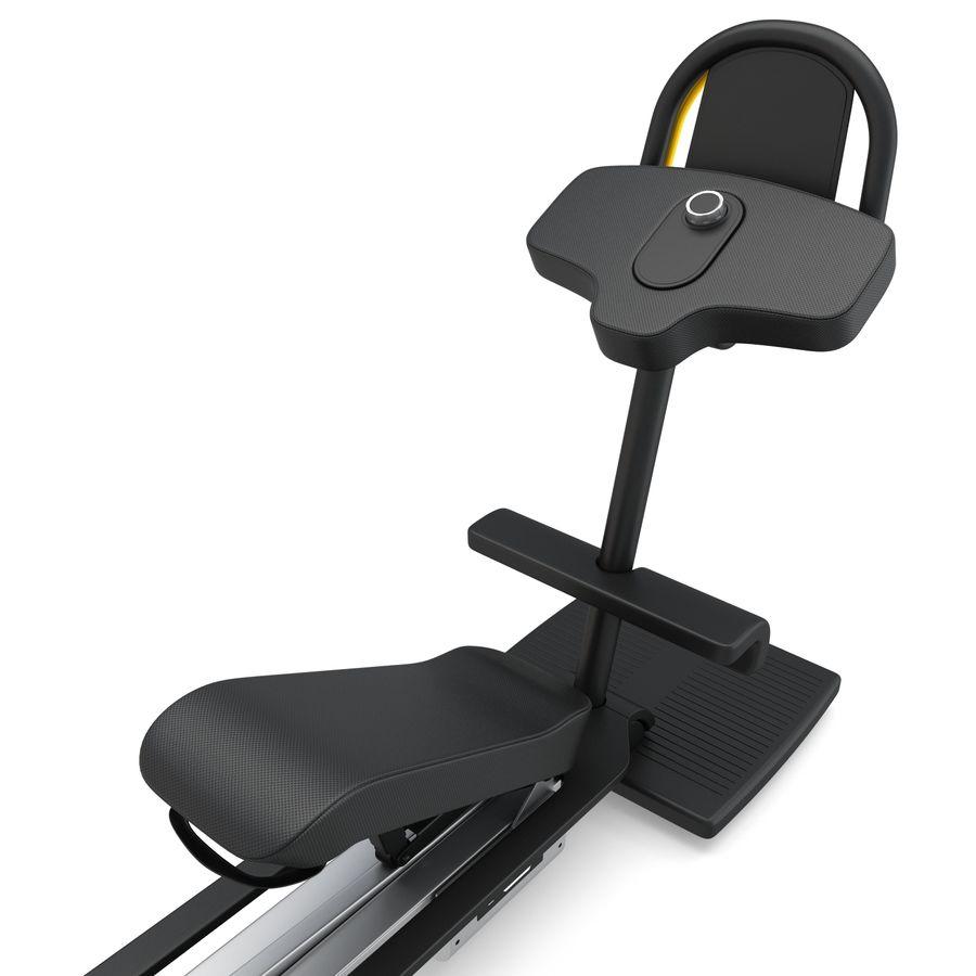Stretch Machine 002 - wyposażenie siłowni royalty-free 3d model - Preview no. 13