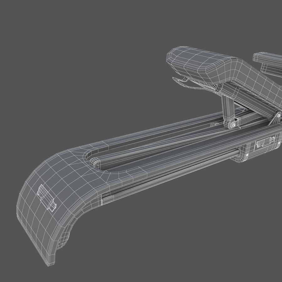 Stretch Machine 002 - wyposażenie siłowni royalty-free 3d model - Preview no. 16