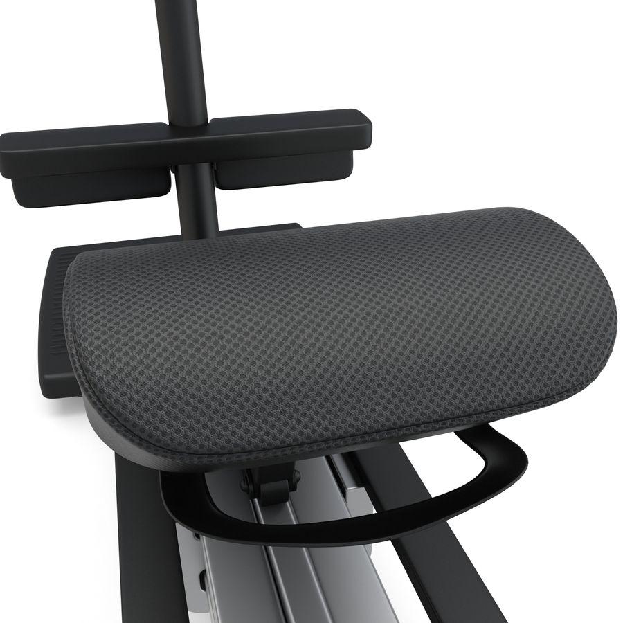 Stretch Machine 002 - wyposażenie siłowni royalty-free 3d model - Preview no. 12