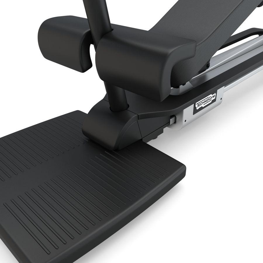 Stretch Machine 002 - wyposażenie siłowni royalty-free 3d model - Preview no. 9