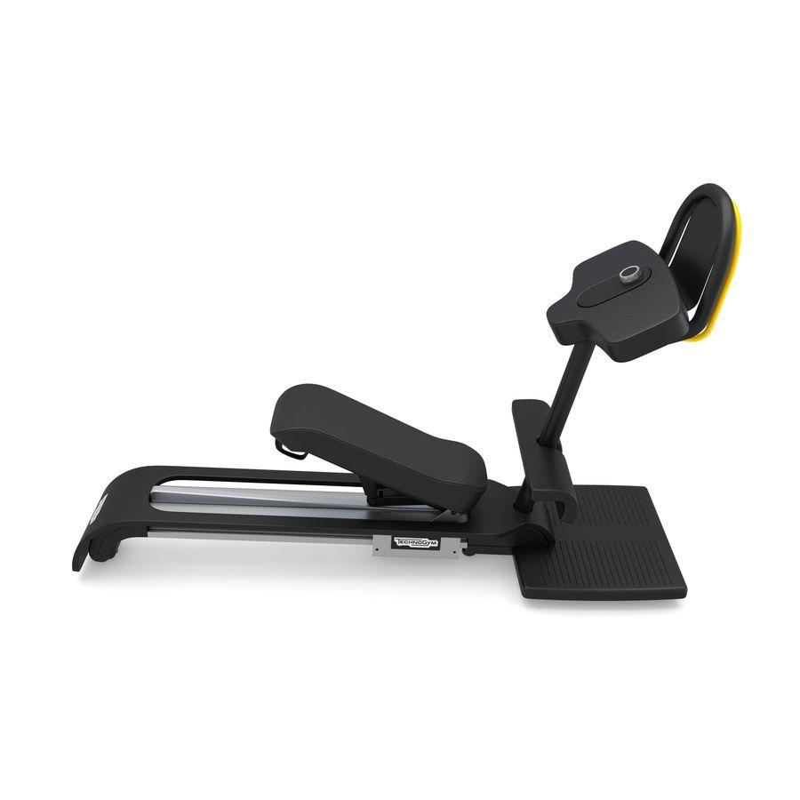 Stretch Machine 002 - wyposażenie siłowni royalty-free 3d model - Preview no. 2