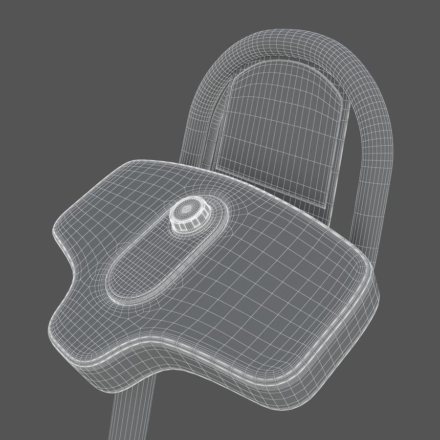 Stretch Machine 002 - wyposażenie siłowni royalty-free 3d model - Preview no. 21