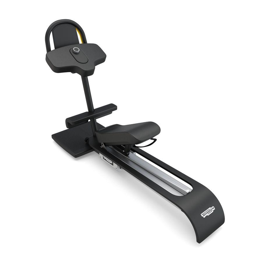 Stretch Machine 002 - wyposażenie siłowni royalty-free 3d model - Preview no. 4