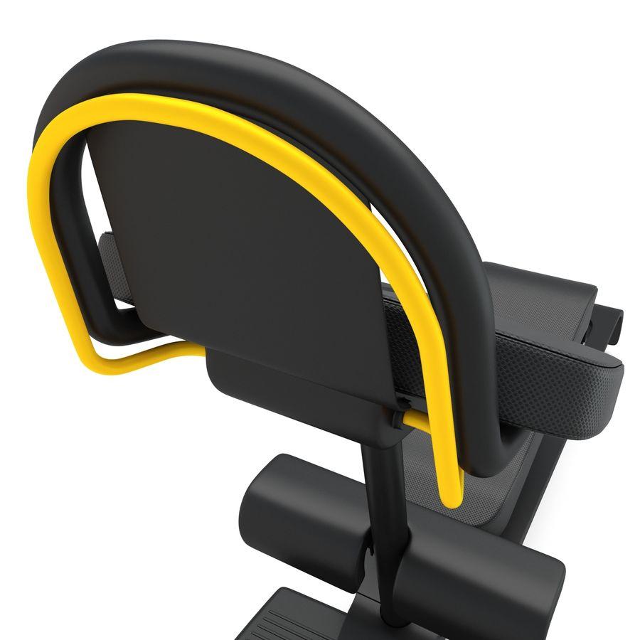 Stretch Machine 002 - wyposażenie siłowni royalty-free 3d model - Preview no. 10