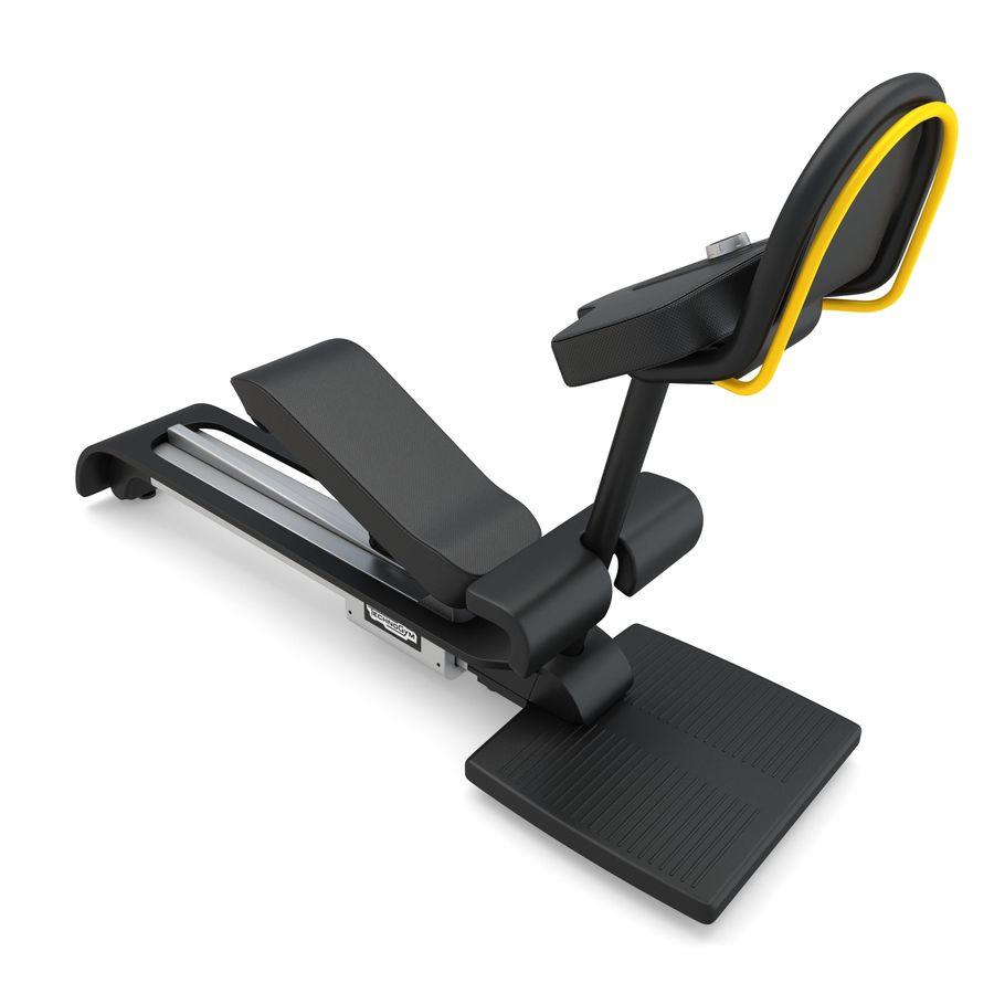 Stretch Machine 002 - wyposażenie siłowni royalty-free 3d model - Preview no. 5