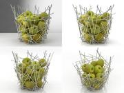 Blow up Citrus basket 3d model