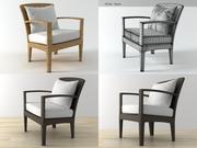 Panama Lounge Chair 3d model